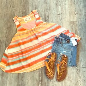 Tank from Anthropology. Size small.